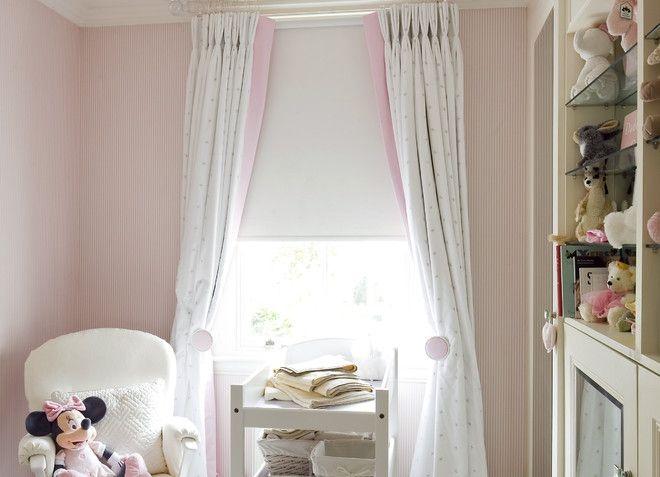 короткие шторы с рулонными