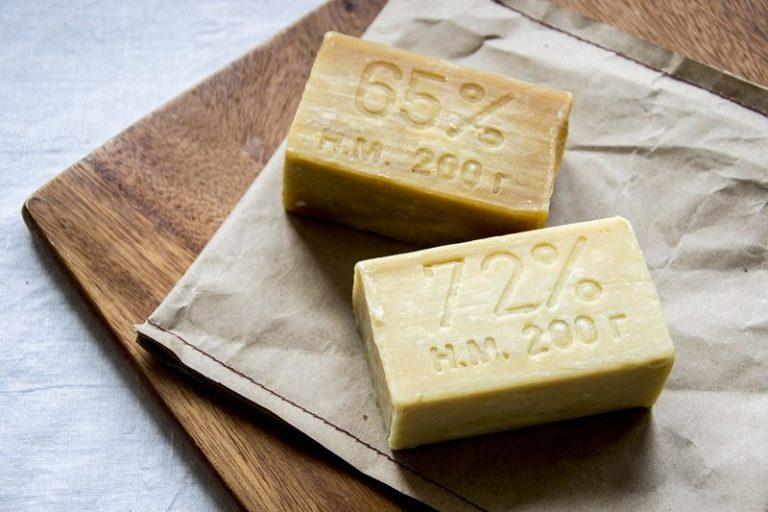 отбеливание хозяйственным мылом