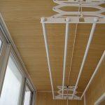 сушилка для белья на балкон фото идеи