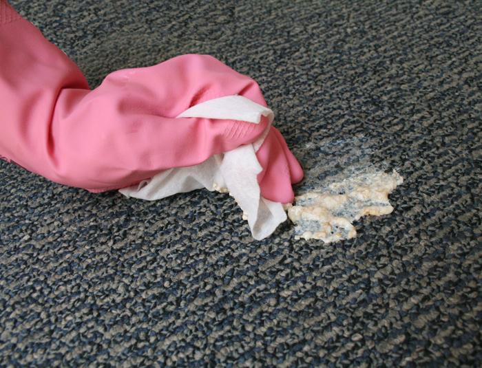 удалить запах с ковра в домашних условиях