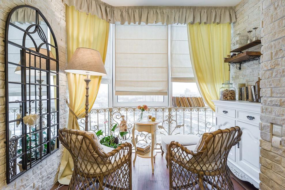 желтые шторы дизайн фото
