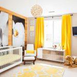 желтые шторы идеи