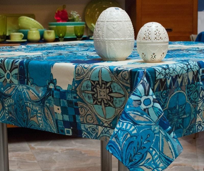 акриловая скатерть на кухонный стол