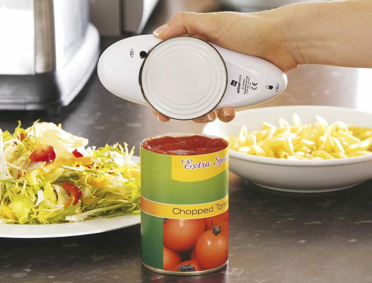 автоматический консервный нож