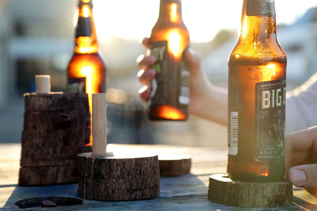 бирдекель из дерева
