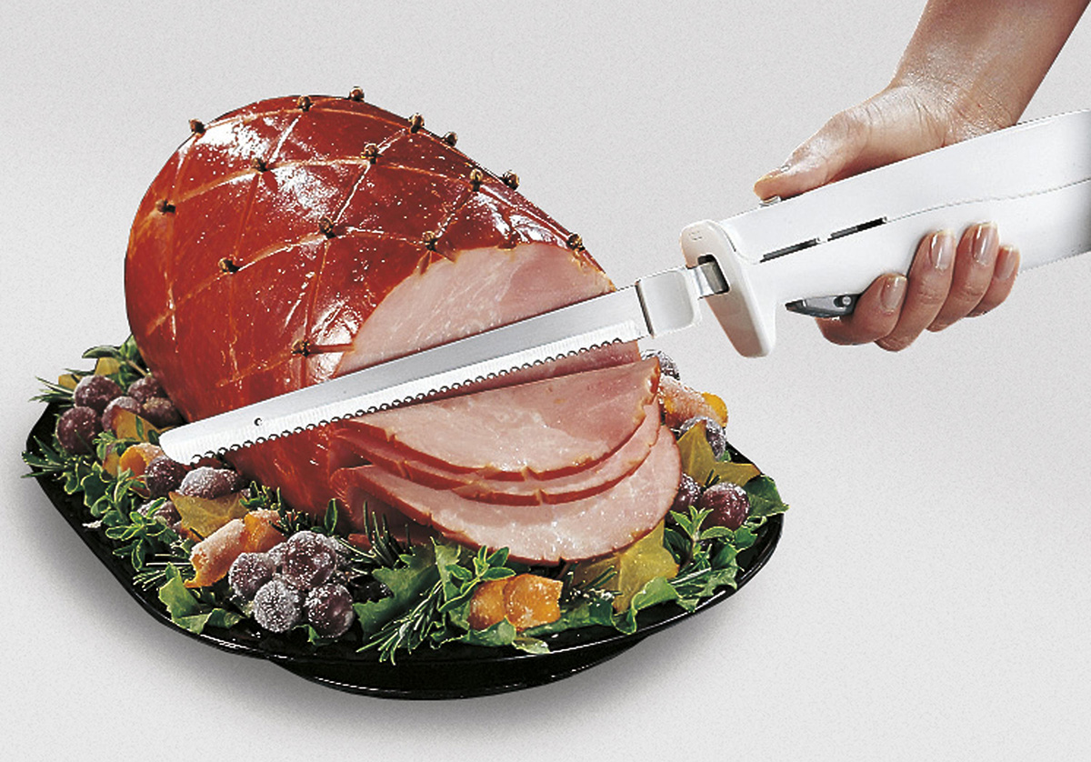 электронож с мясом