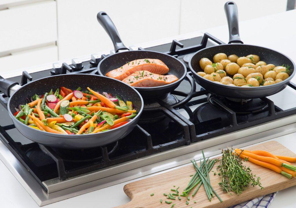 гранитные сковороды