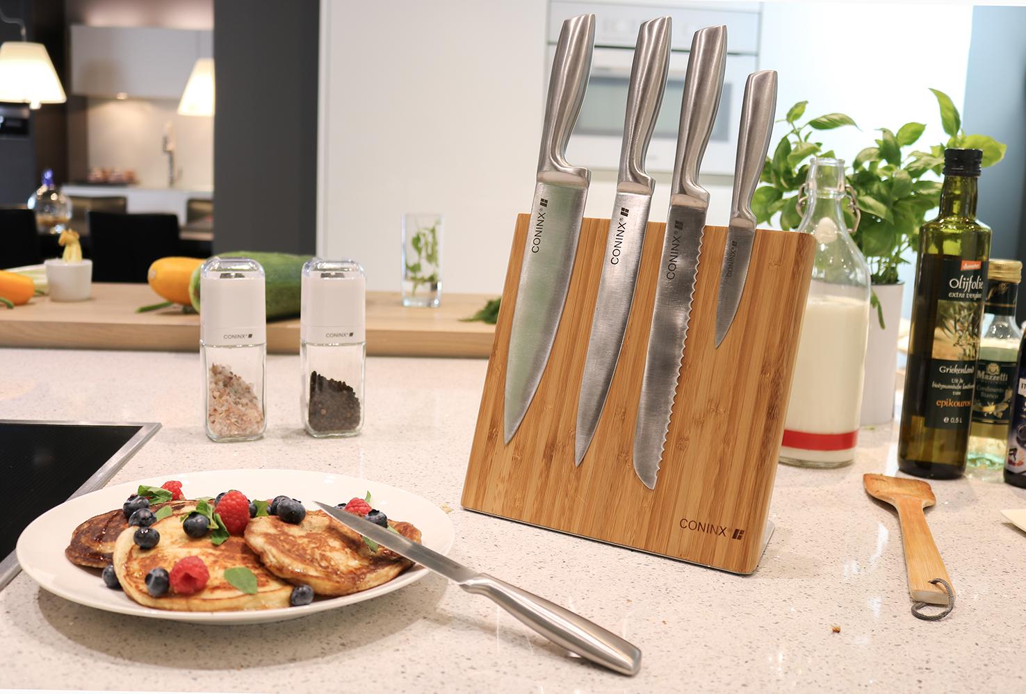 магнитная подставка для ножей на столе
