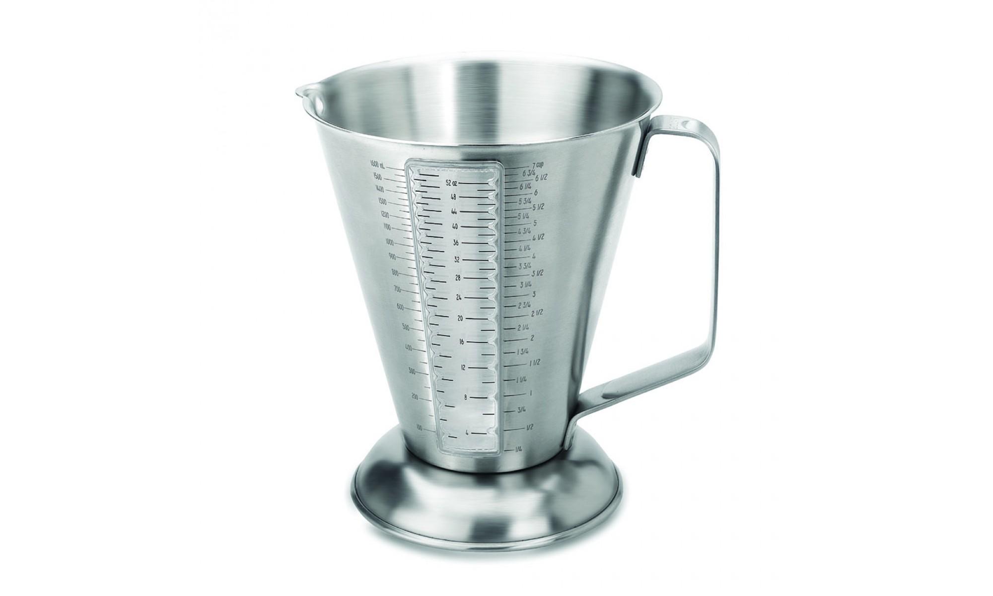 мерный стакан из нержавейки