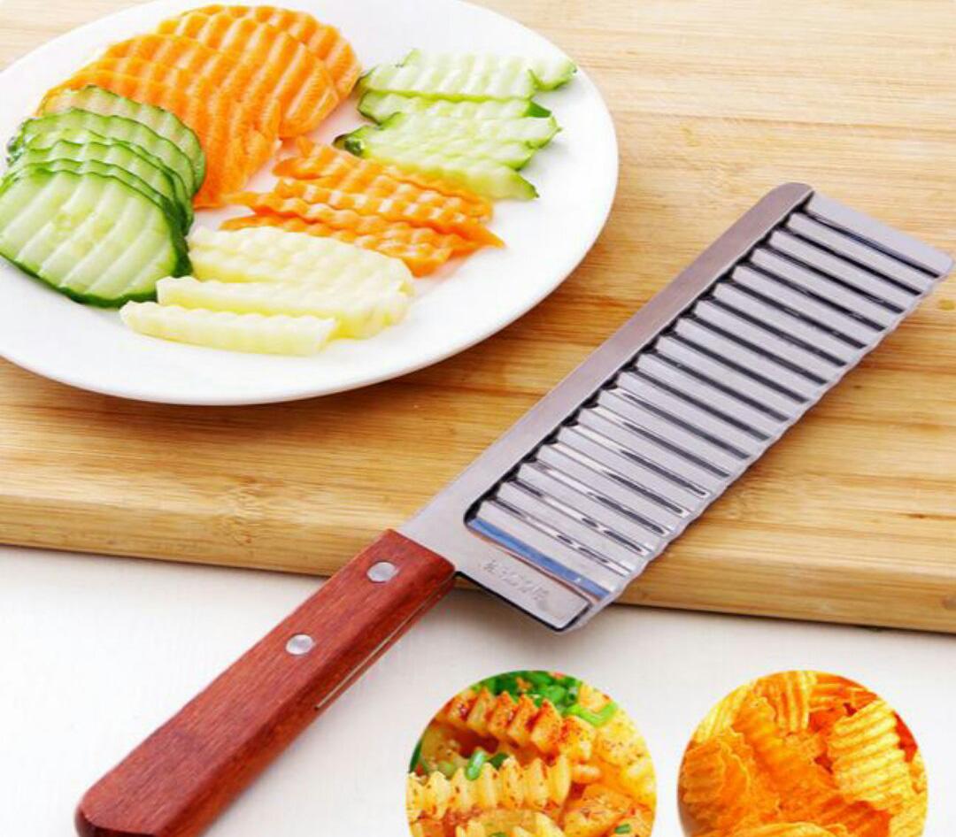 волнистый нож