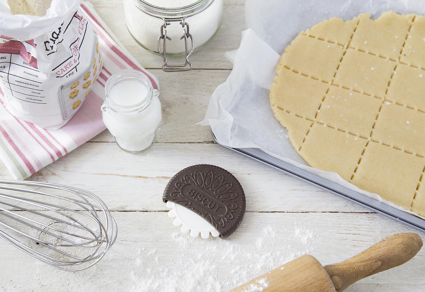 нож для теста печенька