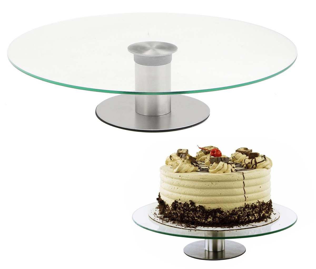 подставка вращающаяся под торт стеклянная