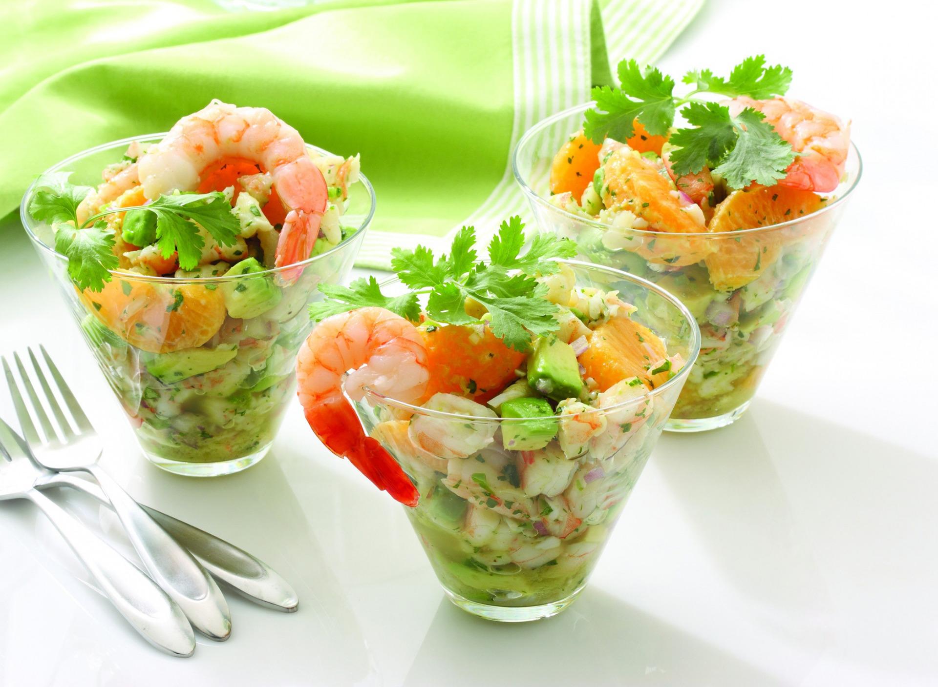 порционные салатники