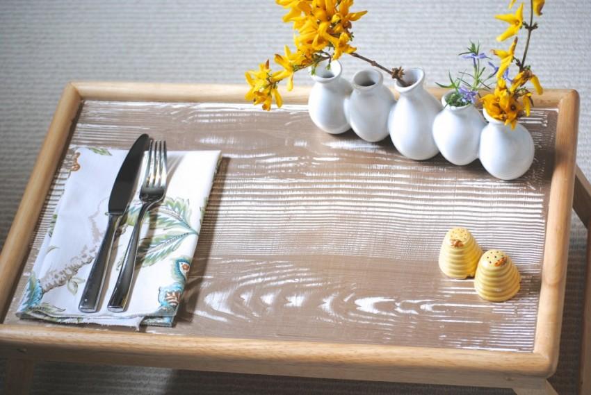 столик для завтрака фото виды