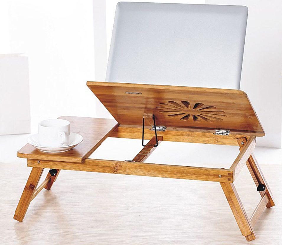 столик для завтрака и ноутбука фото