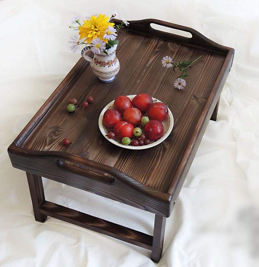столик для завтрака венге