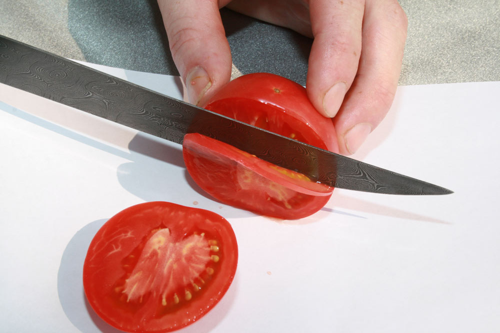 помидорный тест ножа