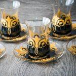 армуды стаканы для чая турецкие виды декора