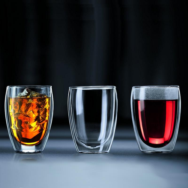 стаканы с двойными стенками