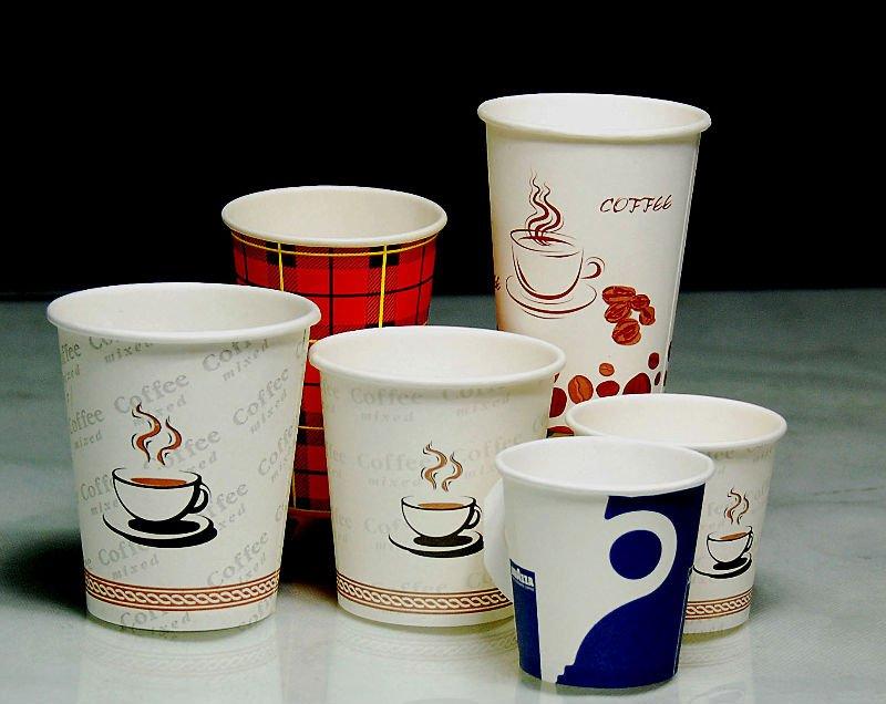 стаканы для кофе с принтом