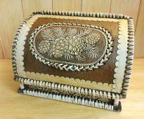 челябинская хлебница из бересты