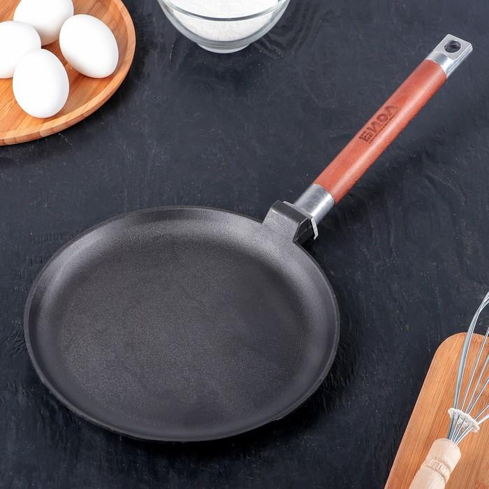 чугунная сковорода для блинов и оладий
