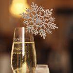 декор бокалов на новый год идеи вариантов