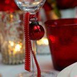 декор бокалов на новый год виды фото