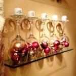 декор бокалов на новый год дизайн идеи