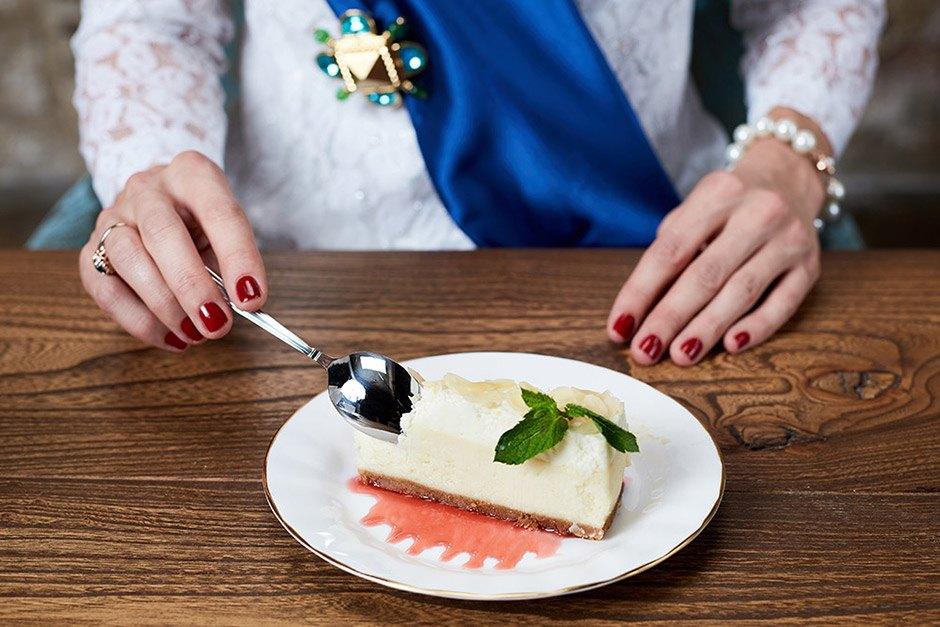 десерт по этикету