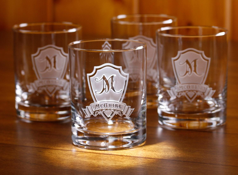 гравировка на стаканах для виски