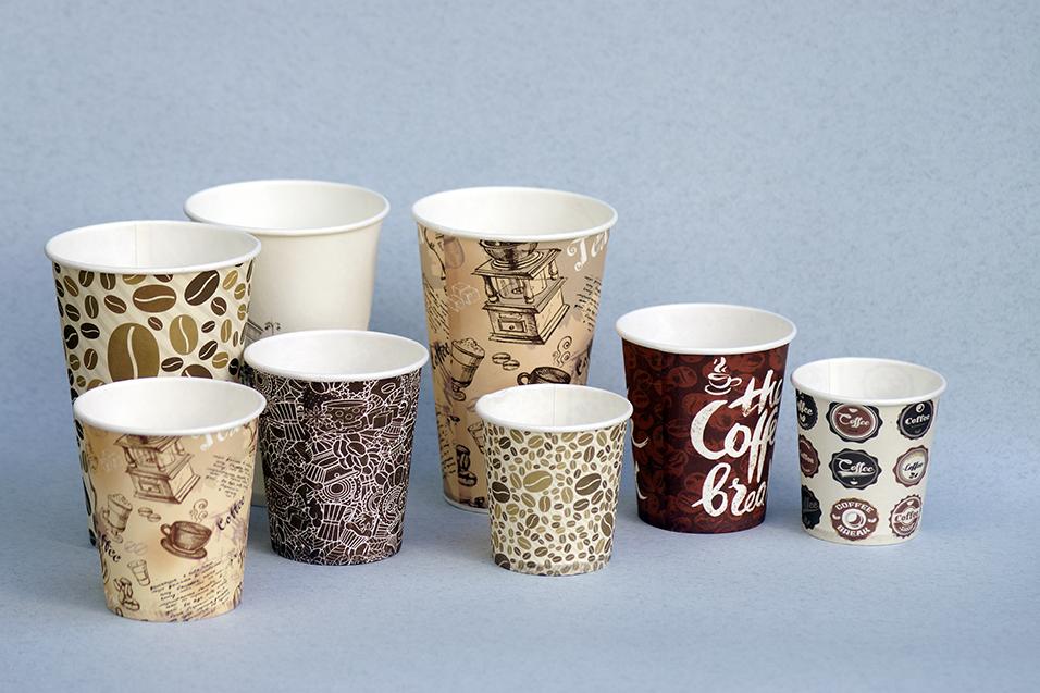 картонные стаканы для кофе