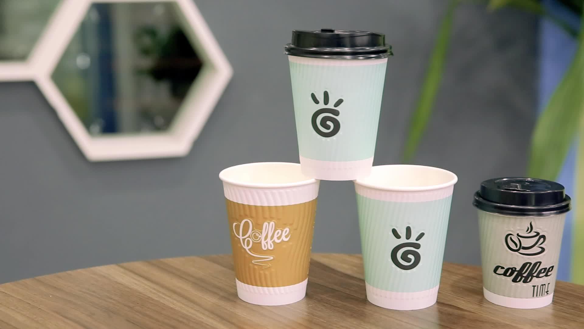 кофе в эко стаканчиках
