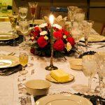 красивая сервировка стола фото обзоры