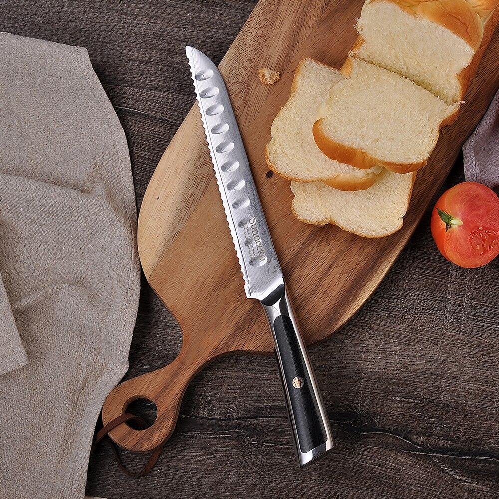 стальной нож для хлеба