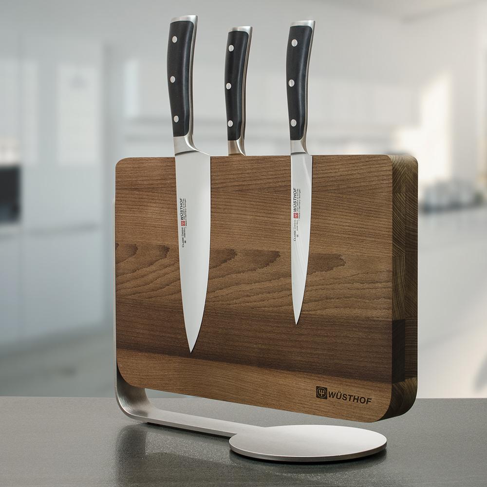 Подставка магнитная для 12 ножей бук WUESTHOF