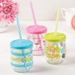 многоразовые стаканы с крышкой и трубочкой идеи декор