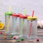 многоразовые стаканы с крышкой и трубочкой идеи декора