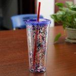 многоразовые стаканы с крышкой и трубочкой варианты фото