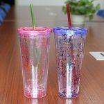 многоразовые стаканы с крышкой и трубочкой фото варианты