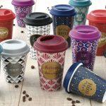 многоразовый стакан для кофе оформление идеи