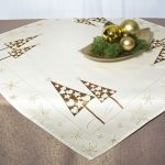 новогодние скатерти и салфетки декор