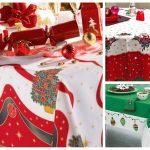 новогодние скатерти и салфетки виды декора