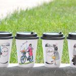 оригинальные кофейные стаканчики фото оформления