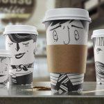 оригинальные кофейные стаканчики идеи фото