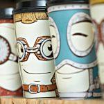 оригинальные кофейные стаканчики виды декора