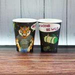 оригинальные кофейные стаканчики идеи дизайна