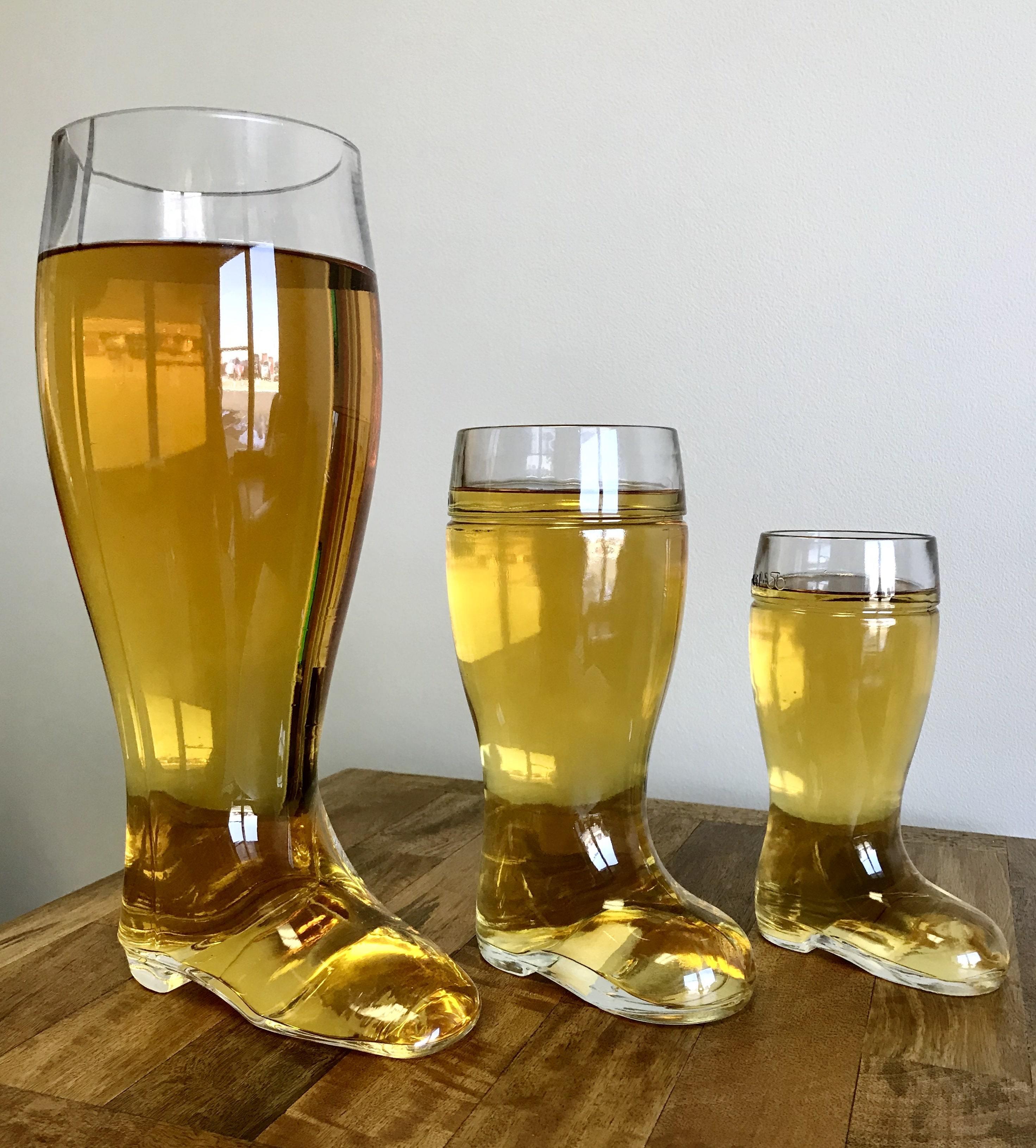 пивные бокалы сапоги