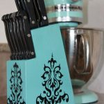 подставки для кухонных ножей декор