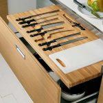 подставки для кухонных ножей декор идеи
